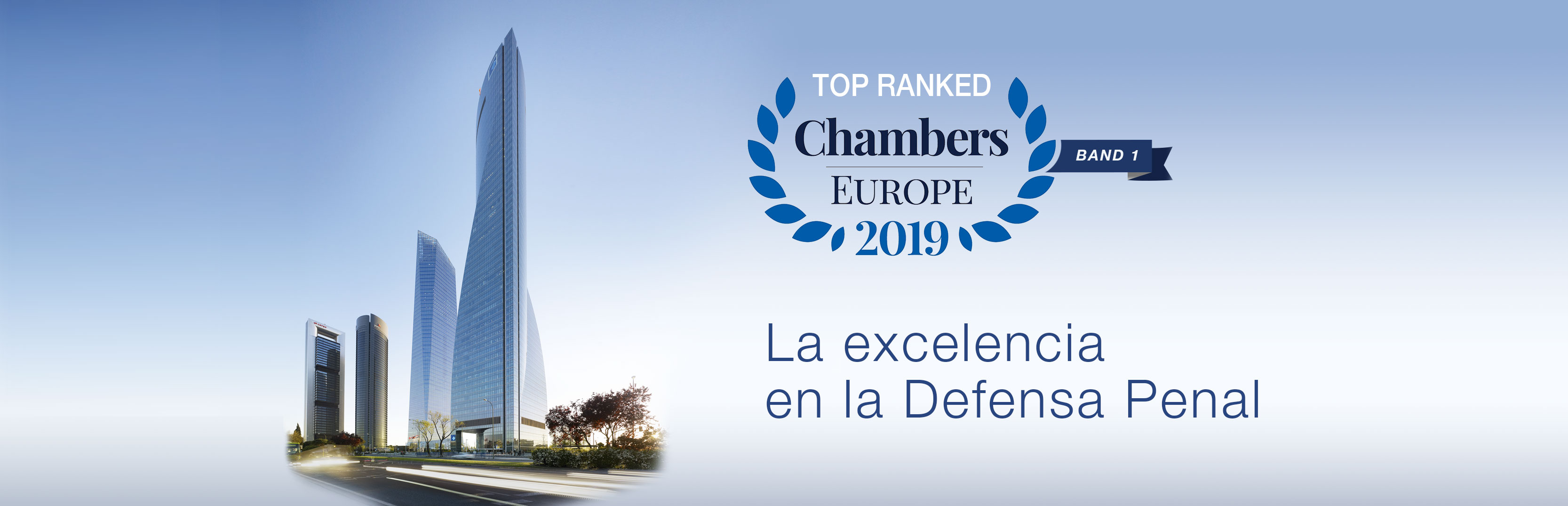 Top Ranked Chambers Europe 2019